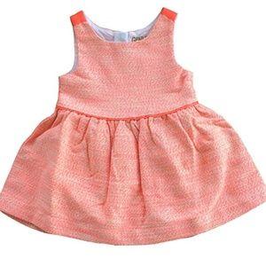 OshKosh Girls Dress Genuine Kids Orange Tweed